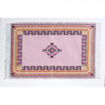 TAPIS RECTANGULAIRE ROSE