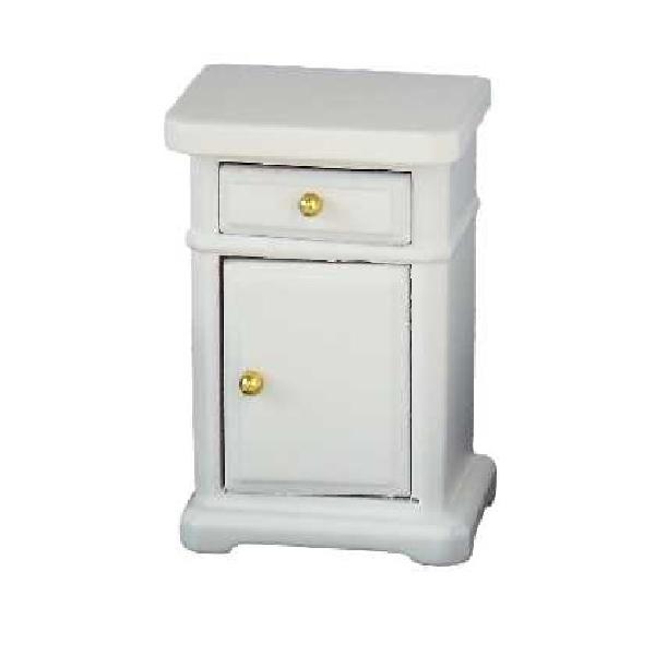 Table de nuit bois blanc for Table de nuit bois blanc
