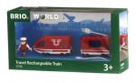 Train de voyageur rechargeable