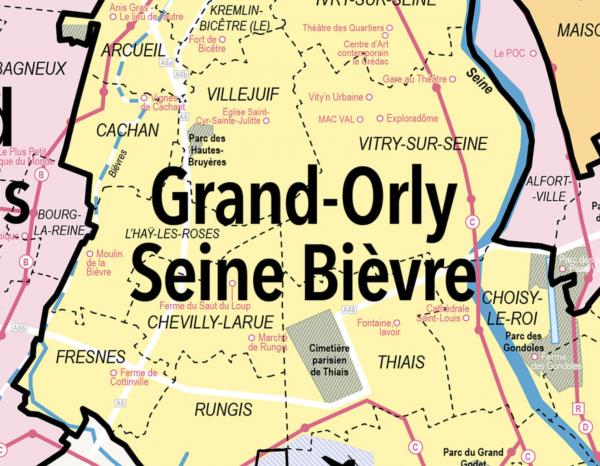 CARTE GRAND PARIS