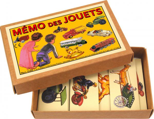 Mémo des jouets