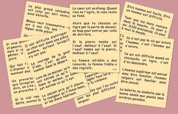200 Proverbes Chinois