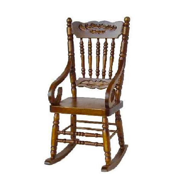 rocking chair merisier. Black Bedroom Furniture Sets. Home Design Ideas