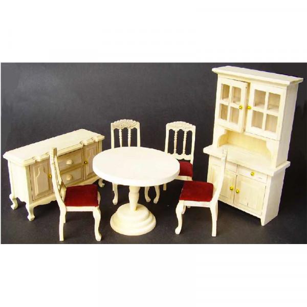 Kit complet salon salle a manger en bois brut for Salon salle a manger bois