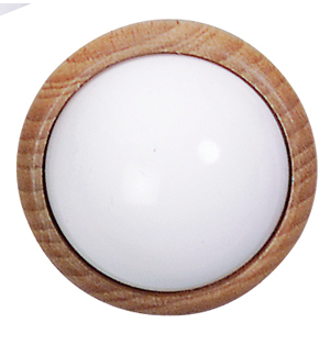 LAMPE 3,5V GLOBE TYPE APPLIQUE BOIS