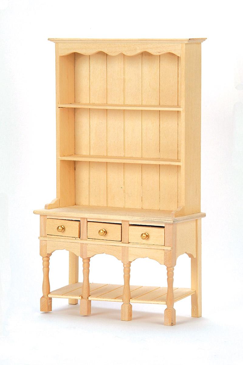 vaisselier en bois naturel. Black Bedroom Furniture Sets. Home Design Ideas