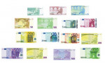 LOT DE 21 BILLETS EURO FACTICE