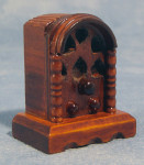 Transistor en bois des années 30