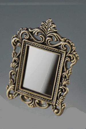Miroir avec cadre metal for Grand miroir cadre metal