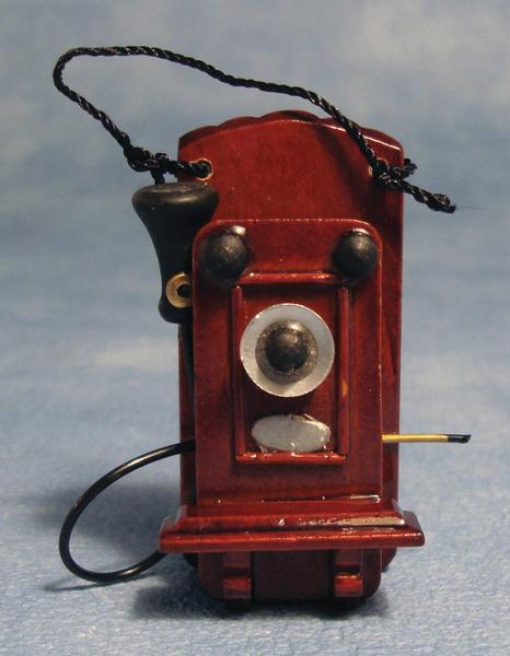 TELEPHONE ANCIEN MURAL