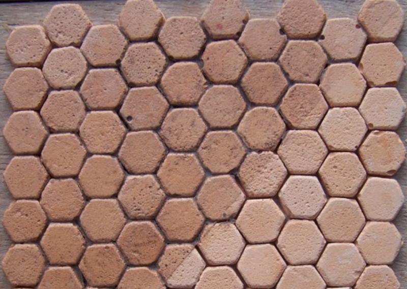 carrelage imitation tomette hexagonale carrelage hexagonal noir x tomette la piece with. Black Bedroom Furniture Sets. Home Design Ideas