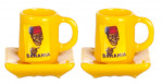 LOT DE 2 TASSES BANANIA