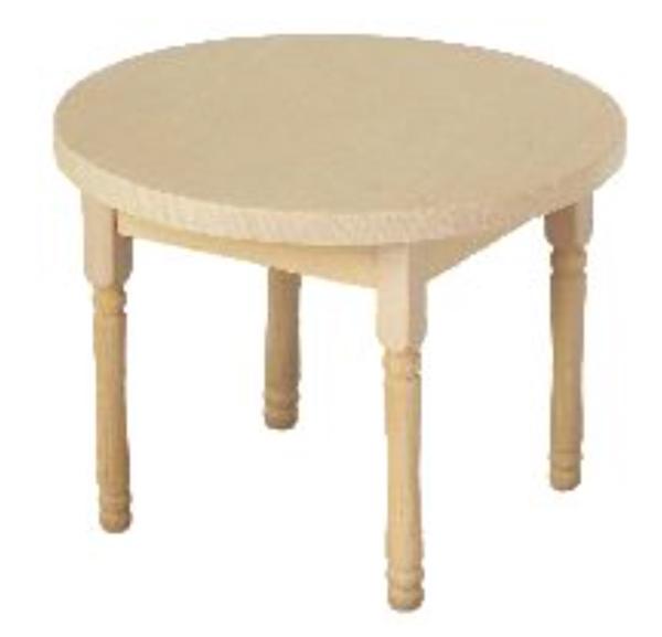 petite table ronde bois brut. Black Bedroom Furniture Sets. Home Design Ideas