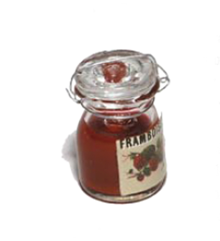 petit pot de confiture de framboises. Black Bedroom Furniture Sets. Home Design Ideas
