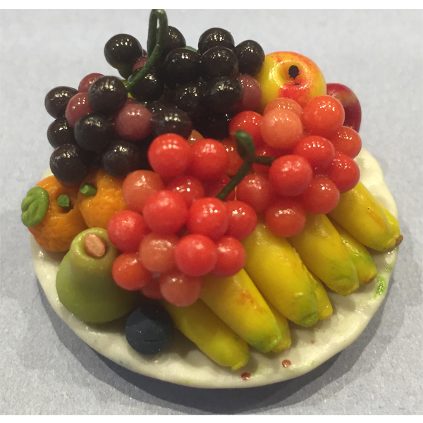GRANDE ASSIETTE RONDE DE FRUITS