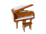 PIANO MARRON CHENE AVEC TABOURET