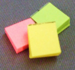 LOT DE 3 POST-IT