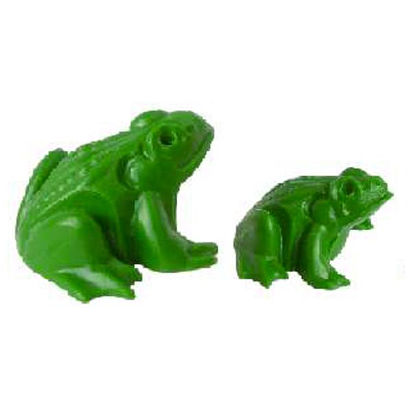 Lot de 2 grenouilles