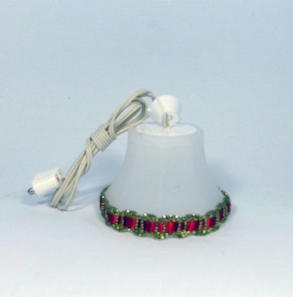 LAMPE SUSPENSION LED BORDURE ROUGE ET OR