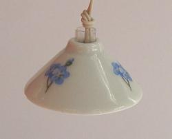 LAMPE SUSPENSION TYPE PORCELAINE