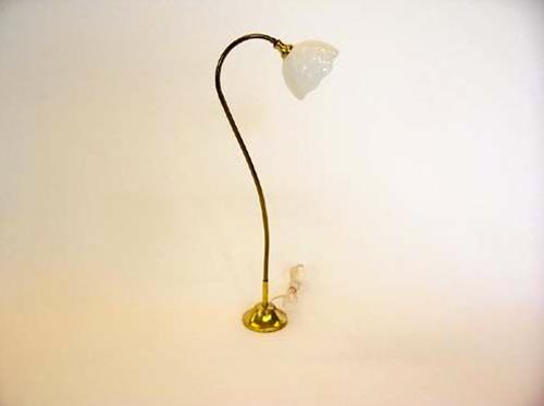 Lampe 3,5V sur pied doré