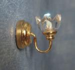 LAMPE APPLIQUE DOREE (avec pile)