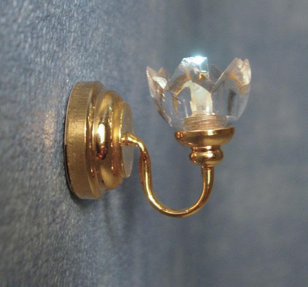 lampe applique doree avec pile. Black Bedroom Furniture Sets. Home Design Ideas