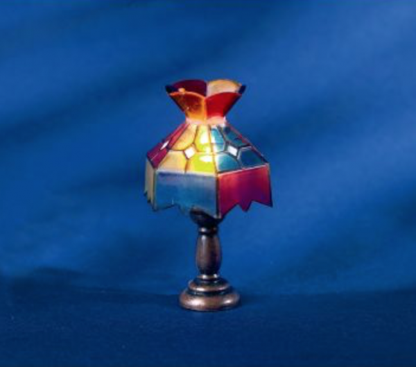 LAMPE DE BUREAU TYPE TIFANY 12V