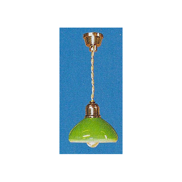 Lampe a suspendre verte 12v for Lampe a suspendre