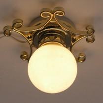 LAMPE LUSTRE BOULE 12V