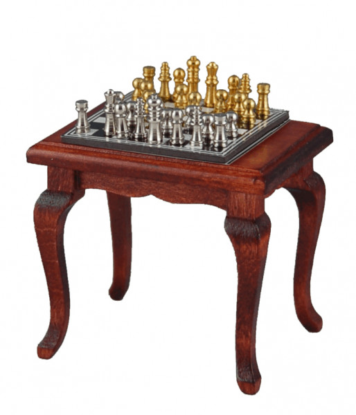 table avec jeu d 39 echecs magnetique. Black Bedroom Furniture Sets. Home Design Ideas
