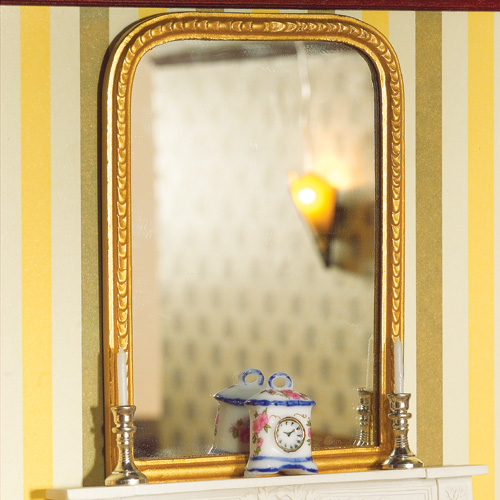 Grand miroir dore for Deco grand miroir