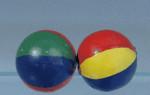 2 PETITS BALLONS DE CLOWN