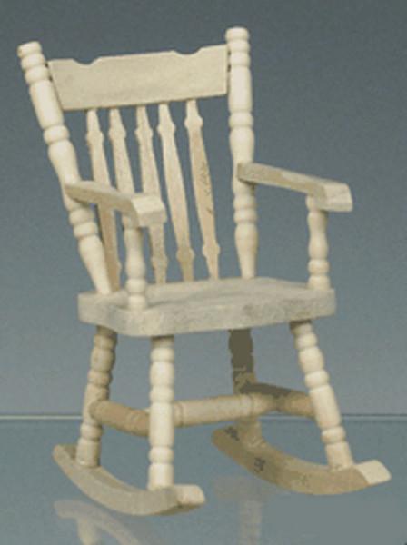 rocking chair bois naturel. Black Bedroom Furniture Sets. Home Design Ideas