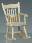 ROCKING CHAIR BOIS NATUREL
