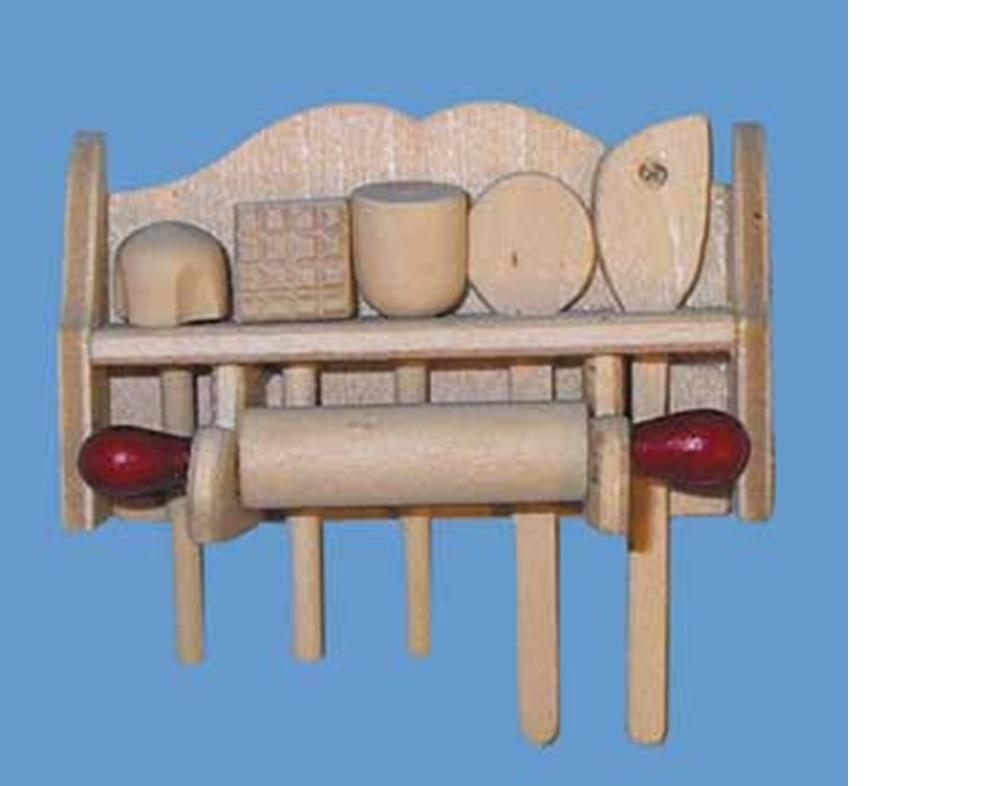Porte ustensiles garni - Ustensiles de cuisine en bois ...