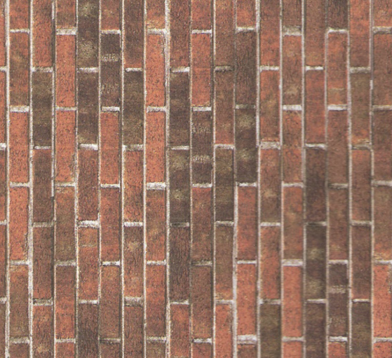 Papier peint illusion briques anciennes p111 - Papier peint illusion ...