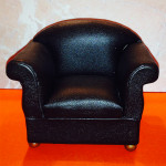 FAUTEUIL TYPE CUIR
