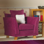 FAUTEUIL TISSUS MODERNE