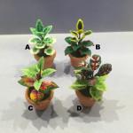 FLEURS EN POT (4 MODELES)