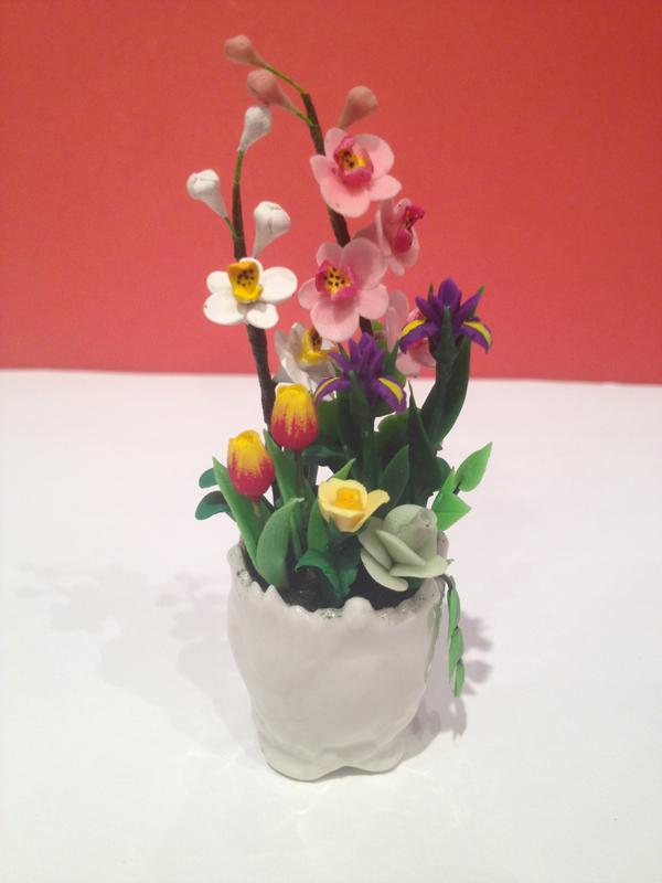 composition florale pot blanc. Black Bedroom Furniture Sets. Home Design Ideas