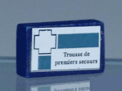 TROUSSE DE PREMIER SECOURS