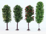 LOT DE 4 ARBRES COLORES