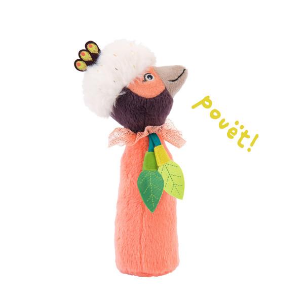 Hochet pouët oiseau Paloma «Dans la jungle»