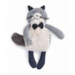 - Petite peluche chat fernand «Les Moustaches»