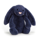 Peluche lapin bleu marine