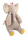 Peluche Eléphant «Les Papoum»