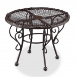 TABLE DE JARDIN EN METAL