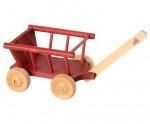 Wagon chariot rouge pour souris et lapins