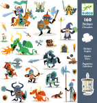 160 STICKERS - CHEVALIERS